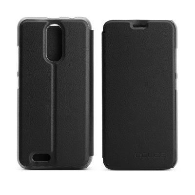 Ocube Flip Folio Stand Up Holder Pu Leather Case Cover for Oukitel C8 Cellphone