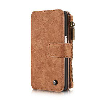 Multi-functional Leather Separable Zipper Purse Holster for Samsung Galaxy S7 EdgSamsung S Series<br>Multi-functional Leather Separable Zipper Purse Holster for Samsung Galaxy S7 Edg<br><br>Color: Black,Red,Brown<br>Compatible for Samsung: Samsung Galaxy S7<br>Features: Full Body Cases, With Credit Card Holder, Vertical Top Flip Case, Anti-knock<br>For: Samsung Mobile Phone<br>Material: TPU, Genuine Leather<br>Package Contents: 1 x Phone Case<br>Package size (L x W x H): 25.00 x 15.00 x 5.00 cm / 9.84 x 5.91 x 1.97 inches<br>Package weight: 0.1750 kg<br>Product weight: 0.1700 kg<br>Style: Solid Color