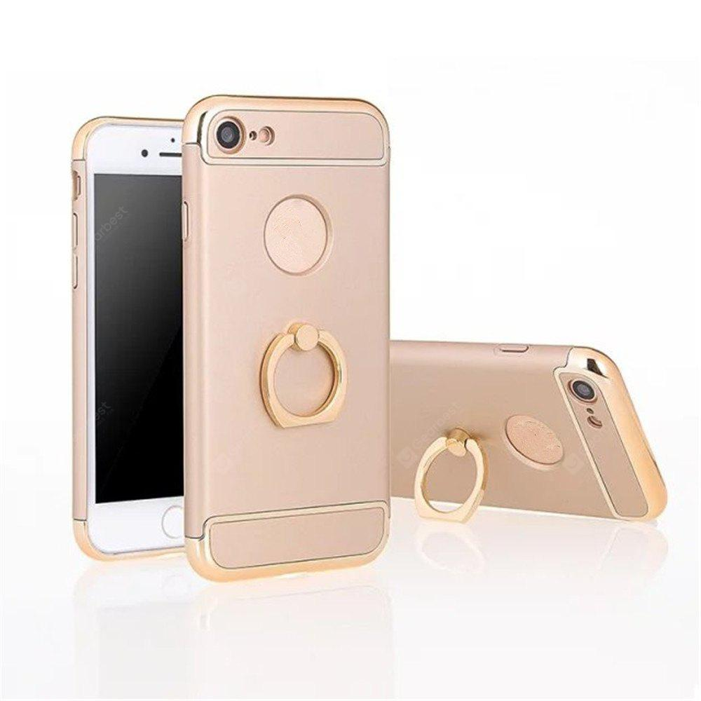 Luxo magnético de 360 ​​graus de giro rotativo Metal Ring Holder Case Kickstand Cover for iPhone 7