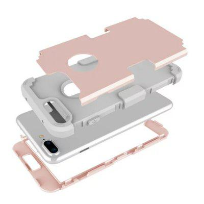 Hybrid Heavy-duty Shockproof Full-body Protective Case with Dual Layer for iPhone 7 PlusiPhone Cases/Covers<br>Hybrid Heavy-duty Shockproof Full-body Protective Case with Dual Layer for iPhone 7 Plus<br><br>Compatible for Apple: iPhone 7 Plus<br>Features: Anti-knock, Dirt-resistant<br>Material: Silicone, PC<br>Package Contents: 1 x Phone Case<br>Package size (L x W x H): 15.00 x 5.00 x 1.20 cm / 5.91 x 1.97 x 0.47 inches<br>Package weight: 0.0500 kg<br>Product size (L x W x H): 14.00 x 4.00 x 1.00 cm / 5.51 x 1.57 x 0.39 inches<br>Product weight: 0.0400 kg<br>Style: Novelty, Ultra Slim, Contrast Color