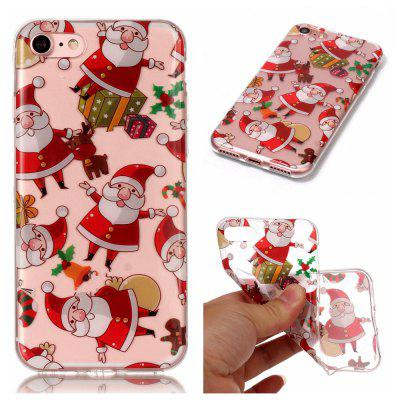 Custodia morbida in TPU modello Christmas Series per iPhone 7/8