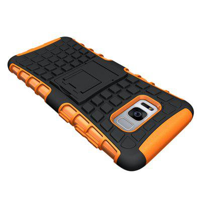 Tire Combo Grain Water Sets Protective Mobile Phone Shell Holder Clip Slip Drop Resistance Seismic Phone Case for Samsung Galaxy S8Samsung S Series<br>Tire Combo Grain Water Sets Protective Mobile Phone Shell Holder Clip Slip Drop Resistance Seismic Phone Case for Samsung Galaxy S8<br><br>Color: Black,White,Red,Blue,Green,Purple,Orange,Rose Madder<br>Compatible with: Samsung Galaxy S8<br>Features: Back Cover, Cases with Stand, Anti-knock, Dirt-resistant<br>For: Samsung Mobile Phone<br>Material: PC, TPU<br>Package Contents: 1 x Case<br>Package size (L x W x H): 17.00 x 8.00 x 1.80 cm / 6.69 x 3.15 x 0.71 inches<br>Package weight: 0.0250 kg<br>Product weight: 0.0220 kg<br>Style: Novelty, Fashion