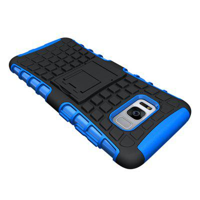 Tire Combo Grain Water Sets Protective Mobile Phone Shell Holder Clip Slip Drop Resistance Seismic Phone Case for Samsung Galaxy S8 PlusSamsung S Series<br>Tire Combo Grain Water Sets Protective Mobile Phone Shell Holder Clip Slip Drop Resistance Seismic Phone Case for Samsung Galaxy S8 Plus<br><br>Color: Black,White,Red,Blue,Green,Purple,Orange,Rose Madder<br>Compatible with: Samsung Galaxy S8 Plus<br>Features: Cases with Stand, Anti-knock, Dirt-resistant<br>For: Samsung Mobile Phone<br>Material: TPU, PC<br>Package Contents: 1 x Case<br>Package size (L x W x H): 17.00 x 8.00 x 1.80 cm / 6.69 x 3.15 x 0.71 inches<br>Package weight: 0.0250 kg<br>Product weight: 0.0220 kg<br>Style: Vintage, Novelty
