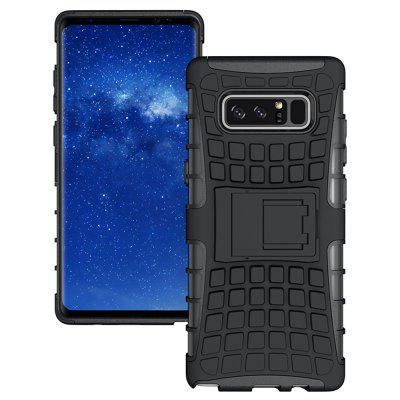 Tire Combo Grain Water Sets Protective Mobile Phone Shell Holder Clip Slip Drop Resistance Seismic Phone Case for Samsung Galaxy Note 8