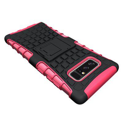 Tire Combo Grain Water Sets Protective Mobile Phone Shell Holder Clip Slip Drop Resistance Seismic Phone Case for Samsung Galaxy Note 8Samsung Note Series<br>Tire Combo Grain Water Sets Protective Mobile Phone Shell Holder Clip Slip Drop Resistance Seismic Phone Case for Samsung Galaxy Note 8<br><br>Color: Black,White,Red,Blue,Green,Purple,Orange,Rose Madder<br>Compatible for Samsung: Samsung Galaxy Note 8<br>Features: Back Cover, Anti-knock, Dirt-resistant<br>For: Samsung Mobile Phone<br>Material: TPU, PC<br>Package Contents: 1 x Case<br>Package size (L x W x H): 17.00 x 8.00 x 1.80 cm / 6.69 x 3.15 x 0.71 inches<br>Package weight: 0.0250 kg<br>Product weight: 0.0220 kg<br>Style: Fashion, Novelty