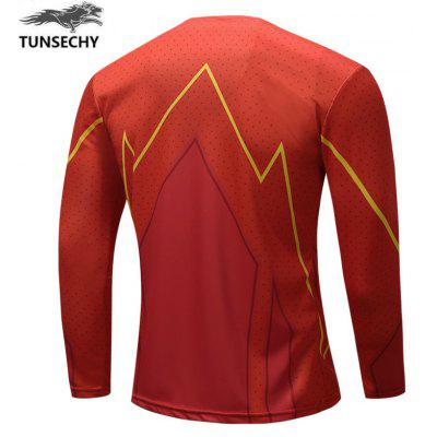 Fashion Round Collar Long Sleeve T-shirt Trend Of Mens ClothingMens T-shirts<br>Fashion Round Collar Long Sleeve T-shirt Trend Of Mens Clothing<br><br>Collar: Round Neck<br>Embellishment: Pattern<br>Material: Polyester, Spandex<br>Package Contents: 1xT-shirt<br>Pattern Type: Print<br>Sleeve Length: Full<br>Style: Casual<br>Weight: 0.2000kg