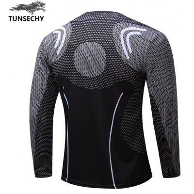 Long Sleeve T-shirt Mens FashionMens T-shirts<br>Long Sleeve T-shirt Mens Fashion<br><br>Collar: Round Neck<br>Embellishment: Pattern<br>Material: Polyester, Spandex<br>Package Contents: 1 XT-shirt<br>Pattern Type: Print<br>Sleeve Length: Full<br>Style: Casual<br>Weight: 0.2000kg