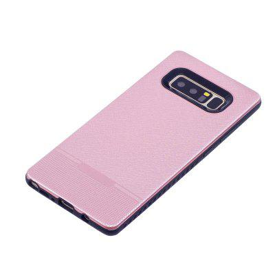 Solid Color Cloth Pattern Spray Paint Combo Phone Case for Samsung Galaxy Note 8Samsung Note Series<br>Solid Color Cloth Pattern Spray Paint Combo Phone Case for Samsung Galaxy Note 8<br><br>Color: Rose Gold,Red,Rose,Light blue<br>Compatible for Samsung: Samsung Galaxy Note 8<br>Compatible with: SAMSUNG<br>Features: Back Cover<br>For: Samsung Mobile Phone<br>Material: TPU, PC<br>Package Contents: 1 x Phone Case<br>Package size (L x W x H): 20.00 x 12.00 x 1.00 cm / 7.87 x 4.72 x 0.39 inches<br>Package weight: 0.0460 kg<br>Product size (L x W x H): 16.50 x 7.60 x 0.90 cm / 6.5 x 2.99 x 0.35 inches<br>Product weight: 0.0450 kg<br>Style: Solid Color