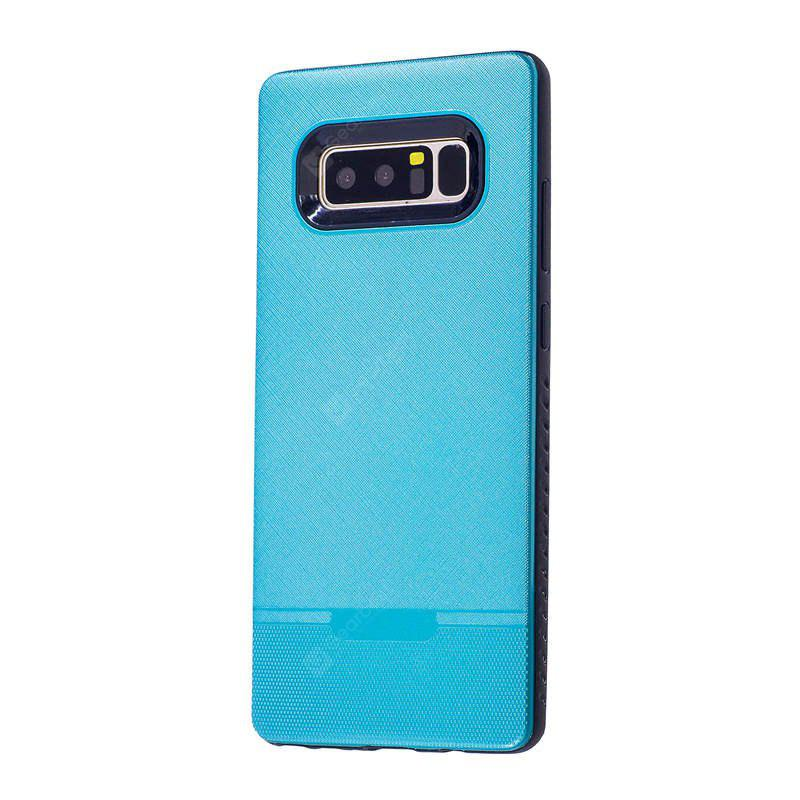 Solid Color Cloth Pattern Spray Paint Combo Phone Case for Samsung Galaxy Note 8