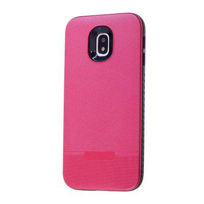 Cloth Pattern Spray Paint Combo Phone Case for Samsung Galaxy J3(2017) European Edition