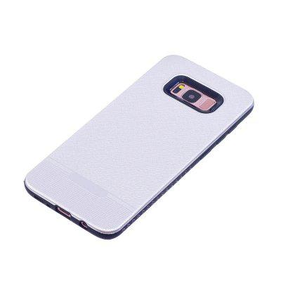 Cloth Pattern Spray Paint Combo Phone Case for Samsung Galaxy S8Samsung S Series<br>Cloth Pattern Spray Paint Combo Phone Case for Samsung Galaxy S8<br><br>Color: Rose Gold,Silver,Black,Red,Rose,Gray,Light blue,Dark blue<br>Compatible with: SAMSUNG, Samsung Galaxy S8<br>Features: Back Cover<br>For: Samsung Mobile Phone<br>Material: TPU, PC<br>Package Contents: 1 x Phone Case<br>Package size (L x W x H): 18.00 x 11.00 x 1.00 cm / 7.09 x 4.33 x 0.39 inches<br>Package weight: 0.0400 kg<br>Product size (L x W x H): 15.10 x 7.10 x 0.90 cm / 5.94 x 2.8 x 0.35 inches<br>Product weight: 0.0390 kg<br>Style: Solid Color