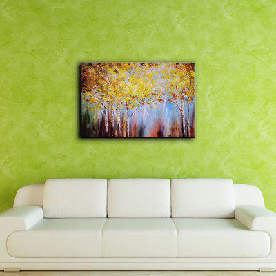 Buy YHHP Hand Painted Abstract Art Forest Canvas Oil Painting for Home Decoration COLORMIX for $61.15 in GearBest store