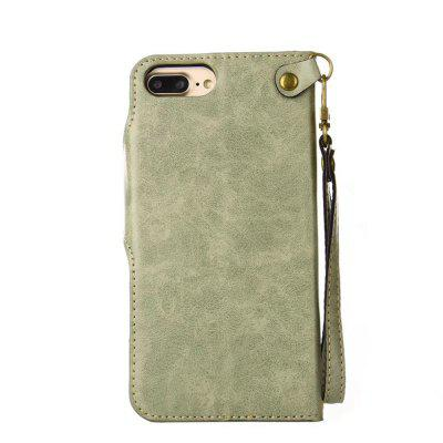 Rivet Magnetic Flap Wallet Pouch Case for iPhone 7 Plus / 8 PlusiPhone Cases/Covers<br>Rivet Magnetic Flap Wallet Pouch Case for iPhone 7 Plus / 8 Plus<br><br>Compatible for Apple: iPhone 7 Plus, iPhone 8 Plus<br>Features: With Credit Card Holder, With Mirror, Anti-knock<br>Material: PU Leather, TPU<br>Package Contents: 1 x Phone Case<br>Package size (L x W x H): 20.00 x 10.00 x 3.00 cm / 7.87 x 3.94 x 1.18 inches<br>Package weight: 0.1500 kg<br>Product weight: 0.0650 kg<br>Style: Floral, Pattern, Vintage