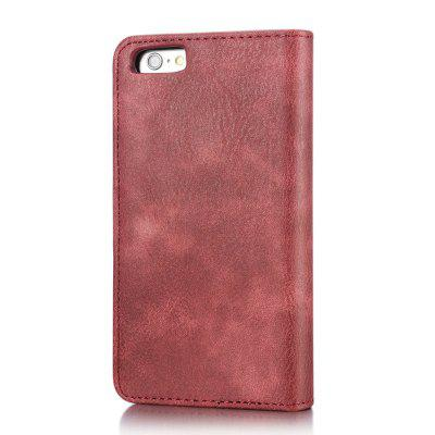 DG.MING Premium Genuine Cowhide Leather Case with Detachable Magnetic Back Cover for iPhone 6 Plus / 6s PlusiPhone Cases/Covers<br>DG.MING Premium Genuine Cowhide Leather Case with Detachable Magnetic Back Cover for iPhone 6 Plus / 6s Plus<br><br>Compatible for Apple: iPhone 6 Plus, iPhone 6S Plus<br>Features: Back Cover, Cases with Stand, With Credit Card Holder<br>Material: Genuine Leather<br>Package Contents: 1 x Phone Case<br>Package size (L x W x H): 19.00 x 15.00 x 5.00 cm / 7.48 x 5.91 x 1.97 inches<br>Package weight: 0.1500 kg<br>Product weight: 0.0650 kg<br>Style: Vintage