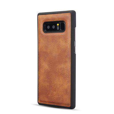 DG.MING Premium Genuine Cowhide Leather Case with Detachable Magnetic Back Cover for Samsung Galaxy Note 8Samsung Note Series<br>DG.MING Premium Genuine Cowhide Leather Case with Detachable Magnetic Back Cover for Samsung Galaxy Note 8<br><br>Compatible for Samsung: Samsung Galaxy Note 8<br>Features: Back Cover, Cases with Stand, With Credit Card Holder<br>For: Samsung Mobile Phone<br>Material: Genuine Leather<br>Package Contents: 1 x Phone Case<br>Package size (L x W x H): 19.00 x 15.00 x 5.00 cm / 7.48 x 5.91 x 1.97 inches<br>Package weight: 0.1500 kg<br>Product weight: 0.0650 kg<br>Style: Vintage