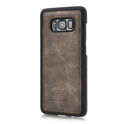 DG.MING Premium Genuine Cowhide Leather Case with Detachable Magnetic Back Cover for Samsung Galaxy S8Samsung S Series<br>DG.MING Premium Genuine Cowhide Leather Case with Detachable Magnetic Back Cover for Samsung Galaxy S8<br><br>Compatible with: Samsung Galaxy S8<br>Features: Cases with Stand, With Credit Card Holder<br>For: Samsung Mobile Phone<br>Material: Genuine Leather<br>Package Contents: 1 x Phone Case<br>Package size (L x W x H): 19.00 x 15.00 x 5.00 cm / 7.48 x 5.91 x 1.97 inches<br>Package weight: 0.1500 kg<br>Product weight: 0.0650 kg<br>Style: Vintage