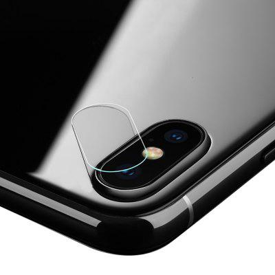 2PCS 0.15mm 9H Tempered Glass Camera Lens Protector for iPhone XIPhone Screen Protectors<br>2PCS 0.15mm 9H Tempered Glass Camera Lens Protector for iPhone X<br><br>Compatible Phone Brand: Apple iPhone<br>Features: Protect Screen, Anti scratch, High sensitivity, Anti fingerprint<br>For: Cell Phone<br>Mainly Compatible with: iPhone X<br>Material: Tempered Glass<br>Package Contents: 2 x Camera Protector, 2 x Wipe, 2 x Dust Sticker, 2 x Wet Wipe<br>Package size (L x W x H): 14.30 x 6.30 x 0.50 cm / 5.63 x 2.48 x 0.2 inches<br>Package weight: 0.0210 kg<br>Product weight: 0.0050 kg<br>Surface Hardness: 9H<br>Thickness: 0.15mm<br>Type: Protective Film