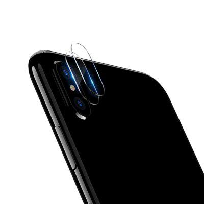 2PCS 0.15mm 9H Tempered Glass Camera Lens Protector for iPhone X