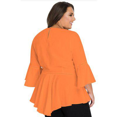 Big Size WomenS Dress Round Neck Seven Cent Trumpet Sleeve Head WomenS T-ShirtTees<br>Big Size WomenS Dress Round Neck Seven Cent Trumpet Sleeve Head WomenS T-Shirt<br><br>Collar: Round Neck<br>Elasticity: Micro-elastic<br>Fabric Type: Broadcloth<br>Material: Polyester<br>Package Contents: 1?T-shirt<br>Pattern Type: Others<br>Shirt Length: Long<br>Sleeve Length: Three Quarter<br>Style: Casual<br>Weight: 0.3000kg