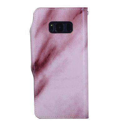 Marbling Pattern PU Leather Case for Samsung Galaxy S8Samsung S Series<br>Marbling Pattern PU Leather Case for Samsung Galaxy S8<br><br>Features: Back Cover, Cases with Stand, With Credit Card Holder, Anti-knock, Dirt-resistant<br>Material: TPU, PU Leather<br>Package Contents: 1 x Phone Case<br>Package size (L x W x H): 20.00 x 15.00 x 2.20 cm / 7.87 x 5.91 x 0.87 inches<br>Package weight: 0.0660 kg<br>Style: Vintage, Leather, Colorful