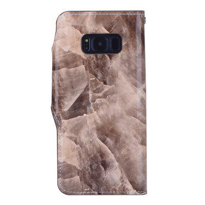 Marbling Pattern PU Leather Case for Samsung Galaxy S8 PlusSamsung S Series<br>Marbling Pattern PU Leather Case for Samsung Galaxy S8 Plus<br><br>Features: Back Cover, Cases with Stand, With Credit Card Holder, Anti-knock, Dirt-resistant<br>Material: TPU, PU Leather<br>Package Contents: 1 x Phone Case<br>Package size (L x W x H): 20.00 x 15.00 x 2.20 cm / 7.87 x 5.91 x 0.87 inches<br>Package weight: 0.0790 kg<br>Style: Vintage, Leather, Special Design