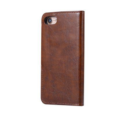 2 in 1 Oil Wax Pattern PU Leather Case for iPhone 7 / 8iPhone Cases/Covers<br>2 in 1 Oil Wax Pattern PU Leather Case for iPhone 7 / 8<br><br>Compatible for Apple: iPhone 7, iPhone 8<br>Features: Back Cover, Cases with Stand, With Credit Card Holder, Anti-knock, Dirt-resistant, Wallet Case<br>Material: TPU, PU<br>Package Contents: 1 x Phone Case<br>Package size (L x W x H): 20.00 x 15.00 x 2.20 cm / 7.87 x 5.91 x 0.87 inches<br>Package weight: 0.0800 kg<br>Style: Vintage, Leather, Solid Color, Vintage/Nostalgic Euramerican Style