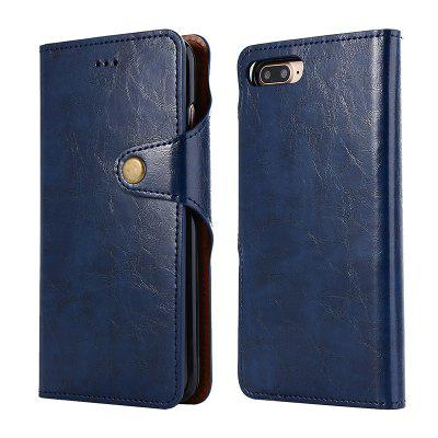 2 in 1 Oil Wax Pattern PU Leather Case for iPhone 7 Plus/ 8 PlusiPhone Cases/Covers<br>2 in 1 Oil Wax Pattern PU Leather Case for iPhone 7 Plus/ 8 Plus<br><br>Compatible for Apple: iPhone 7 Plus, iPhone 8 Plus<br>Features: Back Cover, Cases with Stand, With Credit Card Holder, Anti-knock, Dirt-resistant, Wallet Case<br>Material: TPU, PU<br>Package Contents: 1 x Phone Case<br>Package size (L x W x H): 20.00 x 15.00 x 2.20 cm / 7.87 x 5.91 x 0.87 inches<br>Package weight: 0.0910 kg<br>Style: Vintage, Leather, Solid Color, Vintage/Nostalgic Euramerican Style