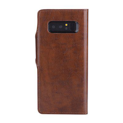 2 in 1 Oil Wax Pattern PU Leather Case for Samsung Galaxy Note8Samsung Note Series<br>2 in 1 Oil Wax Pattern PU Leather Case for Samsung Galaxy Note8<br><br>Compatible for Samsung: Samsung Galaxy Note 8<br>Features: Back Cover, With Credit Card Holder, Anti-knock, Dirt-resistant<br>Material: PU Leather, TPU<br>Package Contents: 1 x Phone Case<br>Package size (L x W x H): 20.00 x 15.00 x 2.20 cm / 7.87 x 5.91 x 0.87 inches<br>Package weight: 0.0910 kg<br>Style: Retro, Solid Color, Special Design, Leather