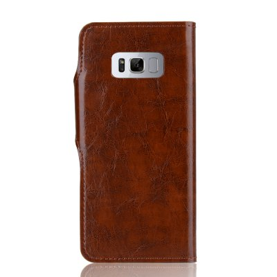 2 in 1 Oil Wax Pattern PU Leather Case for Samsung Galaxy S8Samsung S Series<br>2 in 1 Oil Wax Pattern PU Leather Case for Samsung Galaxy S8<br><br>Compatible with: Samsung Galaxy S8<br>Features: Back Cover, Full Body Cases, With Credit Card Holder, Anti-knock, Dirt-resistant<br>Material: TPU, PU Leather<br>Package Contents: 1 x Phone Case<br>Package size (L x W x H): 20.00 x 15.00 x 2.20 cm / 7.87 x 5.91 x 0.87 inches<br>Package weight: 0.0800 kg<br>Style: Vintage, Leather, Solid Color, Special Design