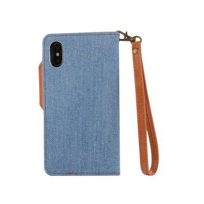 2 in 1 Cowboy Hit Color Pattern  PU Leather Case for iPhone XiPhone Cases/Covers<br>2 in 1 Cowboy Hit Color Pattern  PU Leather Case for iPhone X<br><br>Compatible for Apple: iPhone X<br>Features: Back Cover, With Credit Card Holder, Anti-knock, Dirt-resistant<br>Material: Fabric-covered, TPU, PU<br>Package Contents: 1 x Phone Case<br>Package size (L x W x H): 20.00 x 15.00 x 2.20 cm / 7.87 x 5.91 x 0.87 inches<br>Package weight: 0.0850 kg<br>Style: Novelty, Contrast Color, Colorful