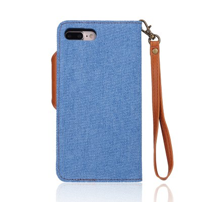 2 in 1 Cowboy Hit Color Pattern PU Leather Case for iPhone 7 Plus / 8 PlusiPhone Cases/Covers<br>2 in 1 Cowboy Hit Color Pattern PU Leather Case for iPhone 7 Plus / 8 Plus<br><br>Compatible for Apple: iPhone 7 Plus, iPhone 8 Plus<br>Features: Back Cover, With Credit Card Holder, Anti-knock, Dirt-resistant, FullBody Cases, Wallet Case<br>Material: Fabric-covered, TPU, PU<br>Package Contents: 1 x Phone Case<br>Package size (L x W x H): 20.00 x 15.00 x 2.20 cm / 7.87 x 5.91 x 0.87 inches<br>Package weight: 0.1000 kg<br>Style: Novelty, Leather, Contrast Color