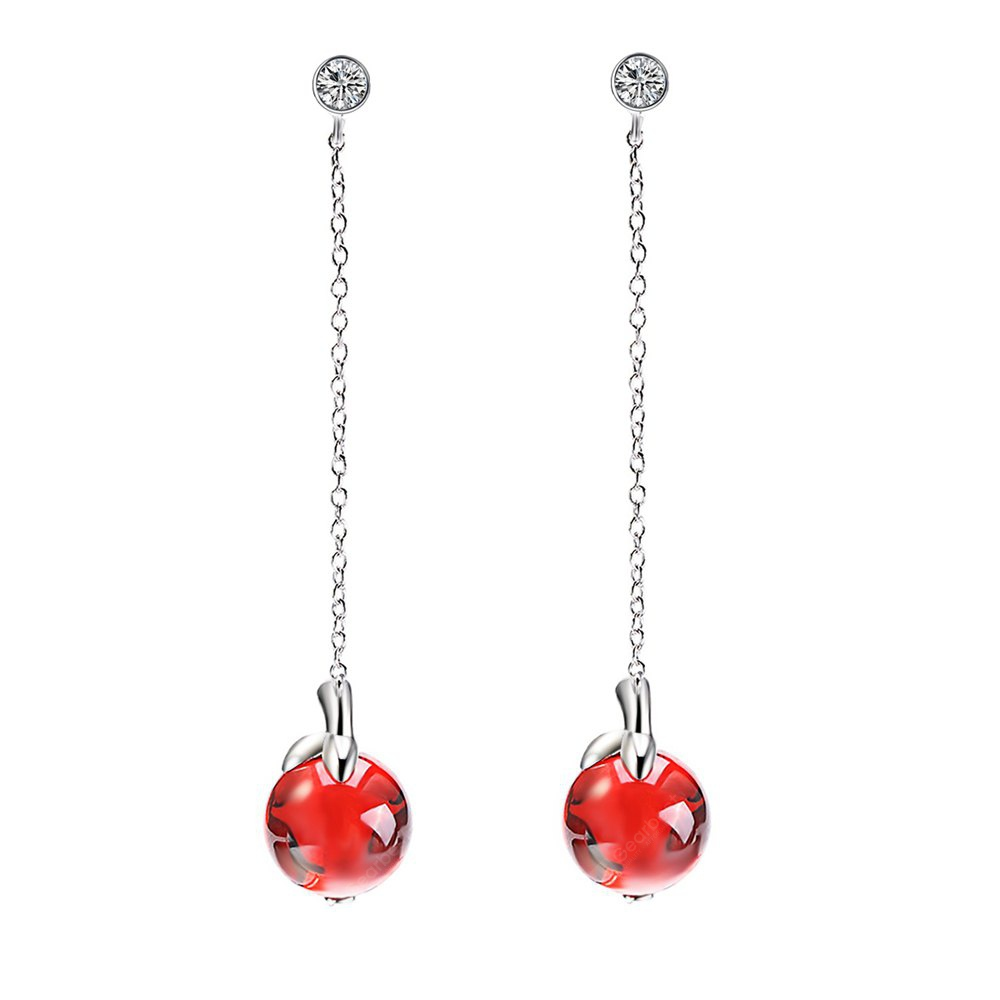 925 Sterling Silver Rhodium-plated Laser-cut Ball State University XS Post Earrings