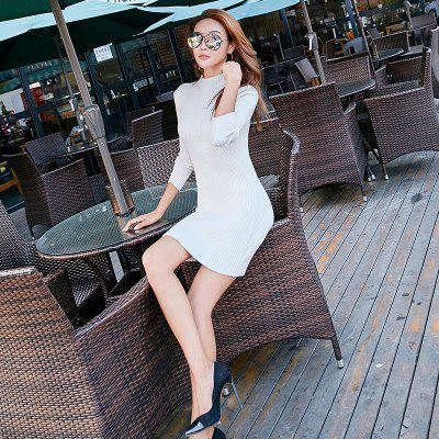 Y01 Girl Long  Stretch Slim SweaterSweaters &amp; Cardigans<br>Y01 Girl Long  Stretch Slim Sweater<br><br>Collar: Turtleneck<br>Elasticity: Micro-elastic<br>Material: Nylon, Spandex, Rayon<br>Package Contents: 1xSweater<br>Sleeve Length: Full<br>Style: Fashion<br>Type: Pullovers<br>Weight: 0.3500kg