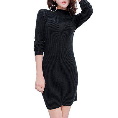 Y01 Girl Long  Stretch Slim Sweater