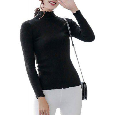 Y02 Women's Lace Self-cultivation Sweater