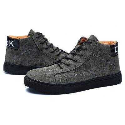 Hot Style Shock Absorber Men ShoesCasual Shoes<br>Hot Style Shock Absorber Men Shoes<br><br>Available Size: 39,40,41,42,43,44<br>Closure Type: Lace-Up<br>Embellishment: None<br>Gender: For Men<br>Occasion: Casual<br>Outsole Material: Rubber<br>Package Contents: 1xShoes(pair)<br>Pattern Type: Others<br>Season: Winter<br>Toe Shape: Round Toe<br>Toe Style: Closed Toe<br>Upper Material: Flock<br>Weight: 1.6896kg
