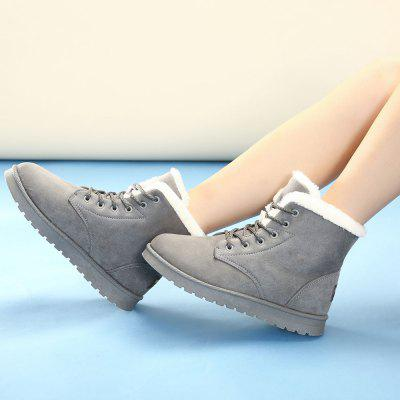 Women Suede Leather Low Heel Ankle BootsWomens Boots<br>Women Suede Leather Low Heel Ankle Boots<br><br>Boot Height: Ankle<br>Boot Type: Snow Boots<br>Closure Type: Slip-On<br>Gender: For Women<br>Heel Height: 2<br>Heel Type: Flat Heel<br>Insole Material: PU<br>Lining Material: Plush<br>Outsole Material: Plastic<br>Package Contents: 1  x  Shoes(pair)<br>Pattern Type: Solid<br>Platform Height: 2<br>Season: Winter<br>Shoe Width: Medium(B/M)<br>Toe Shape: Round Toe<br>Upper Material: Suede<br>Weight: 1.7980kg
