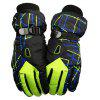 Unisex Winter Outdoor Sport Waterproof Warm Respiravel Luvas - VERDE + PRETO