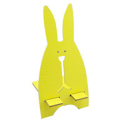 Small Cute Rabbit Wooden Universal Smart Phone Stand Mount Desk HolderStands &amp; Holders<br>Small Cute Rabbit Wooden Universal Smart Phone Stand Mount Desk Holder<br><br>Package Contents: 1 x Mziart Wooden phone stand<br>Package size (L x W x H): 10.00 x 20.00 x 9.00 cm / 3.94 x 7.87 x 3.54 inches<br>Package weight: 0.0900 kg<br>Product size (L x W x H): 9.00 x 18.50 x 8.00 cm / 3.54 x 7.28 x 3.15 inches<br>Product weight: 0.0760 kg