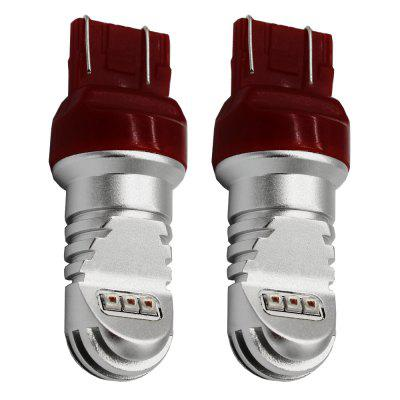 2PCS T20 7443 30W High Power DC 12 - 24V LED Car Brake LightsCar Lights<br>2PCS T20 7443 30W High Power DC 12 - 24V LED Car Brake Lights<br><br>Apply To Car Brand: Universal<br>Connector: T20(7440 7443)<br>Emitting color: Red<br>Features: Spotlight, Low Power Consumption, High Output, Easy to use<br>LED Type: Epistar<br>Lumen: 90LM<br>Luminous Angle: 360 degrees<br>Model: T20 / 7443<br>Package Contents: 2 x T20 LED Car Light<br>Package size (L x W x H): 12.00 x 10.00 x 5.00 cm / 4.72 x 3.94 x 1.97 inches<br>Package weight: 0.0900 kg<br>Product weight: 0.0030 kg<br>Type: Brake Light<br>Type of lamp-house: LED<br>Voltage: DC 12 - 24V<br>Wavelength: 492-577nm