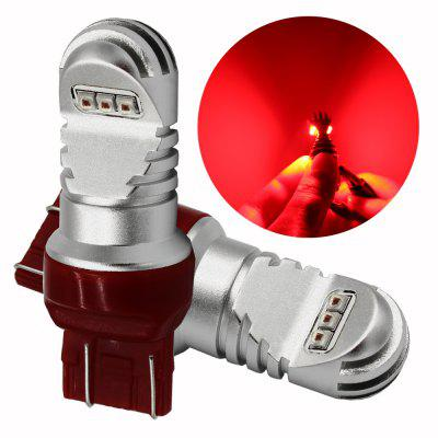 2PCS T20 7443 30W High Power DC 12 - 24V LED carro freio luzes