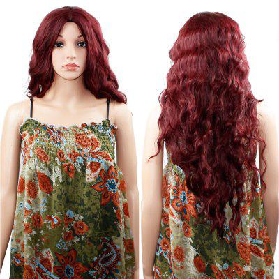 Women Long Wavy Curly Wig for Cosplay, Party