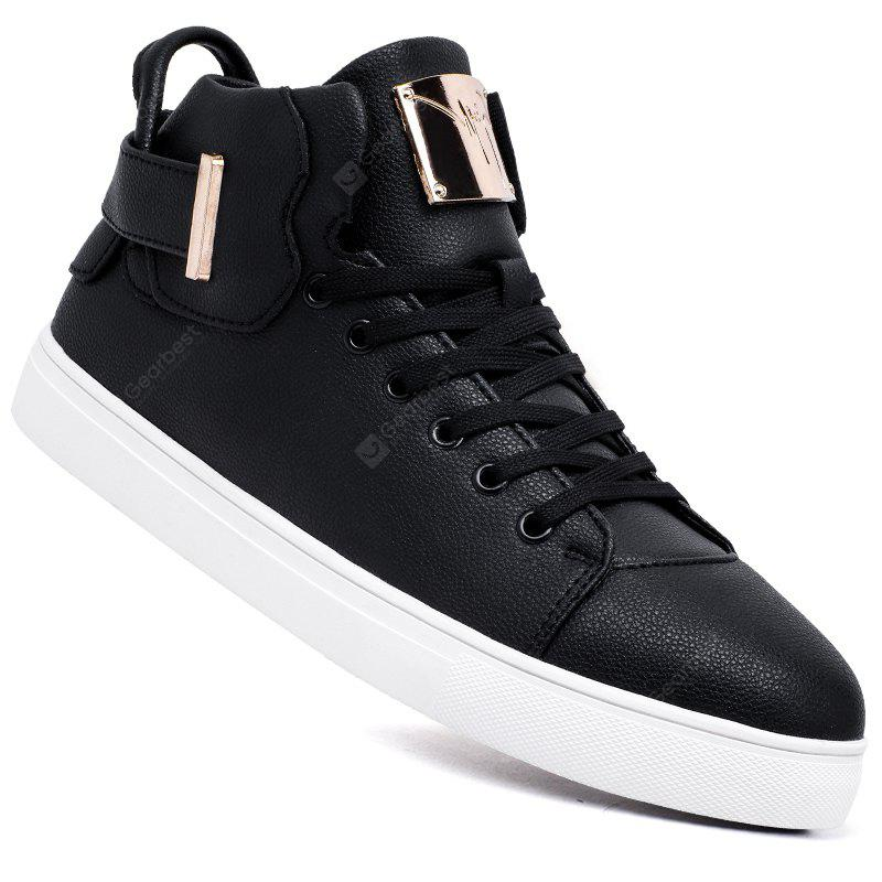Men Casual Trend for Fashion Outdoor Inverno Lace Up Pu scarpe morbide in pelle