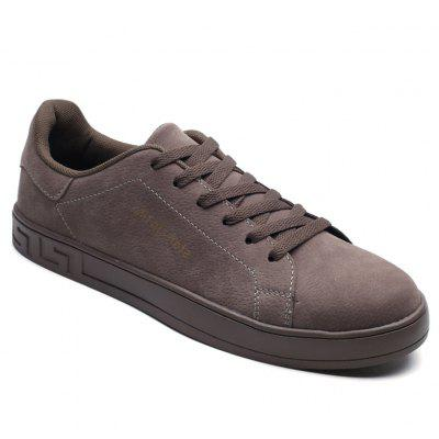 Fashion Men Walking Hip Hop Leisure Shoes Male Breathable Walking Casual Sneakers - Gray 43 buy cheap websites sale choice buy cheap finishline marketable cheap online for cheap cheap online Pmd6VQY