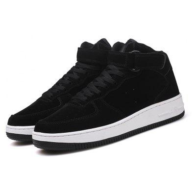 Men Casual Fashion Walking High Top Leisure Shoes Male Breathable Walking SneakersCasual Shoes<br>Men Casual Fashion Walking High Top Leisure Shoes Male Breathable Walking Sneakers<br><br>Available Size: 40-45<br>Closure Type: Lace-Up<br>Embellishment: None<br>Gender: For Men<br>Outsole Material: Rubber<br>Package Contents: 1?Shoes(pair)<br>Pattern Type: Others<br>Season: Summer, Spring/Fall, Winter<br>Shoe Width: Medium(B/M)<br>Toe Shape: Round Toe<br>Toe Style: Closed Toe<br>Upper Material: PU<br>Weight: 1.2000kg