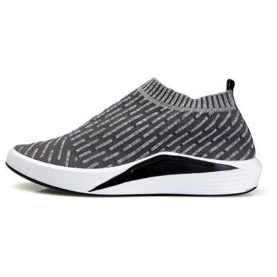 Men Casual Fashion Leisure Sock Shoes Male Breathable Walking SneakersCasual Shoes<br>Men Casual Fashion Leisure Sock Shoes Male Breathable Walking Sneakers<br><br>Available Size: 39-44<br>Closure Type: Slip-On<br>Embellishment: None<br>Gender: For Men<br>Outsole Material: Rubber<br>Package Contents: 1?Shoes(pair)<br>Pattern Type: Others<br>Season: Summer, Spring/Fall, Winter<br>Shoe Width: Medium(B/M)<br>Toe Shape: Round Toe<br>Toe Style: Closed Toe<br>Upper Material: PU<br>Weight: 1.2000kg