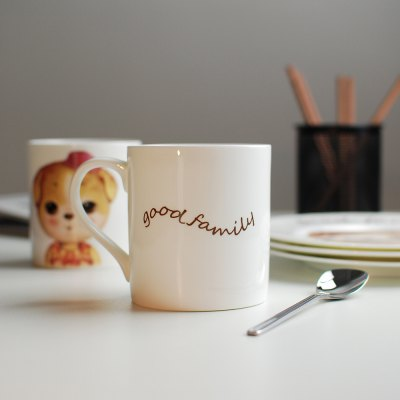 350ML Cartoon Creative Dog Series CupWater Cup &amp; Bottle<br>350ML Cartoon Creative Dog Series Cup<br><br>Material: Bone China<br>Package Contents: 1 x Cup<br>Package size (L x W x H): 11.50 x 8.50 x 11.50 cm / 4.53 x 3.35 x 4.53 inches<br>Package weight: 0.4000 kg<br>Product size (L x W x H): 8.00 x 8.50 x 9.00 cm / 3.15 x 3.35 x 3.54 inches<br>Product weight: 0.3500 kg<br>Style: Casual<br>Suitable for: Home<br>Type: Water, Tea, Fruit Juice, Milk
