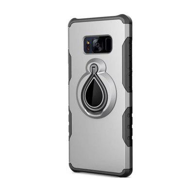 Case for Samsung Galaxy S8 Metal Ring Holder Combo Phone Bag Luxury Shockproof
