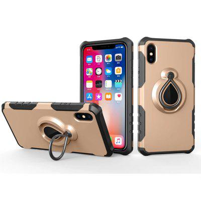 Case for iPhone X Metal Ring Holder Combo Luxury Shockproof Phone CoveriPhone Cases/Covers<br>Case for iPhone X Metal Ring Holder Combo Luxury Shockproof Phone Cover<br><br>Compatible for Apple: iPhone X<br>Features: Back Cover, Anti-knock, Dirt-resistant<br>Material: PC, TPU<br>Package Contents: 1 x Phone Case<br>Package size (L x W x H): 20.00 x 8.00 x 2.00 cm / 7.87 x 3.15 x 0.79 inches<br>Package weight: 0.0400 kg<br>Product weight: 0.0300 kg<br>Style: Solid Color