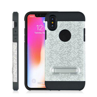 Color Plaid Non-slip with Bracket Phone Case for iPhone XiPhone Cases/Covers<br>Color Plaid Non-slip with Bracket Phone Case for iPhone X<br><br>Features: Back Cover, Cases with Stand<br>Material: TPU, PC<br>Package Contents: 1 x Phone Case<br>Package size (L x W x H): 19.50 x 10.00 x 1.00 cm / 7.68 x 3.94 x 0.39 inches<br>Package weight: 0.0460 kg<br>Product size (L x W x H): 14.70 x 7.50 x 0.90 cm / 5.79 x 2.95 x 0.35 inches<br>Product weight: 0.0440 kg<br>Style: Vintage